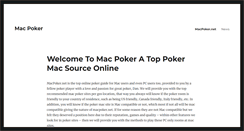 Preview of macpoker.net
